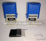 Self Inking Dater Stamp in Square Shape, D4640