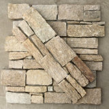 China Natural Sesame Yellow Cement Culture Stone
