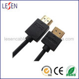 Ultra-Slim HDMI Cable with Ethernet, Am to Am Plug