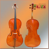 High Level Solid Wood Cello with Good Workmanship