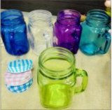 450ml Various Colorful Mason Jar Water Container