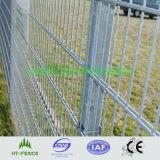 Double Wire Welded Steel Fence