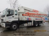 Hongda Group 37m Concrete Pump with Boom