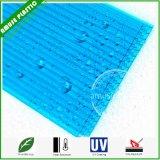 Blue Lexan Cellular Building Material Polycarbonate PC Honeycomb Sheets