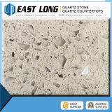 Crystal Light Grey Artificial Quartz Stone Slabs for Countertop