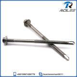 410 Stainless Steel Tek Screw for Heavy Duty Steel Structure