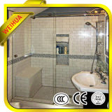 Tempered Stained Art Glass for Bathroom Silding Door with Ce/CCC/SGS/ISO