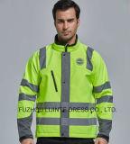 Winter Basic Style High Visibility Safety Jacket Workwear