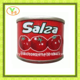 China Factory Make 400g Canned Tomato Paste