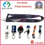 2016 Sydne Sublimation Printing Nylon Lanyards with Lobster (KSD-840)