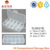 10 Compartment Plastic Storage Box
