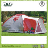 4 Persons Double Layers Camping Tent with Living Room