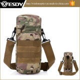 Tactical Molle Water Bottle Hydration Pouch Carrier Army Kettle Bag