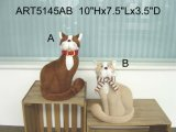 Cute Fleece Cat Home Decoration Toys-2asst.