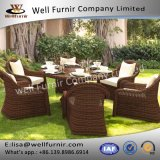 Well Furnir T-060 Luxurious Round Rattan Furniture Range Wicker Dining Sets