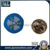 Customer Logo Stainless Iron Printing Lapel Pin