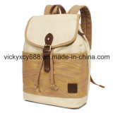 Women Leisure Double Shoulder Canvas iPad Travel Backpack Bag (CY5836)