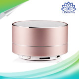 Bluetooth Stereo Alloy Case Portable Speaker with TF