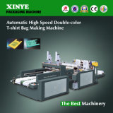 Automatic High Speed Double-Color T-Shirt Bag Making Machine (DFR-400*2)