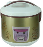 Deluxe Rice Cooker with Flower Printing Housing