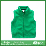 Children Boys Fleece Vest 2-7 Age Kids Solid Zipper Vest