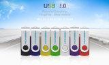 Free Customize Logo USB 2.0 Flash Drive, 7 Colors