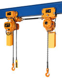 1 Ton Single Speed Double Hook Electric Chain Hoist