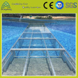 4FT*4FT Outdoor Performance Transparent LED Event Glass Acrylic Stage for Swimming Pool (004)