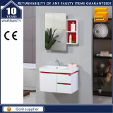 High Quality White Wooden Bathroom Cabinet Unit with Mirror Cabinet