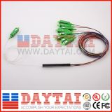 12 Standard Color 1X8 Optical Fiber PLC Splitter
