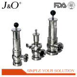 Sanitary Stainless Steel Relief Safety Valve