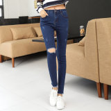 2017 Wholesale Fashion Jeans for Lady