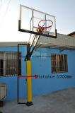 High Pressure Resistance Tempered Glass Backboard Inground Basketball Stand