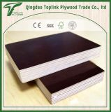 Film Faced Plywood Board for Construction, Poplar Core, Brown Black Film, WBP Glue