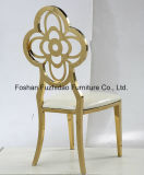Luxury High Quality Stainless Steel Dining Chair for Slaes