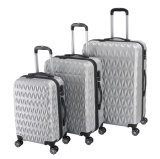 Luggage Manufucturer, 360 Degree 4 Wheels ABS Trolley Case Hardshell Luggage (XHA058)