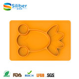 Goldfish Type Silicone Kids Eating Placemat for Sale