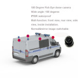 Police Car Camera with 180 Fish Eye Dome Camera