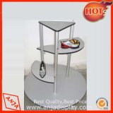 Shoes Display Design Round Shoe Display Table