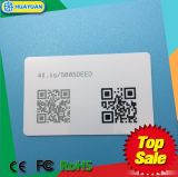 125kHz Promixity RFID Transponder Card with Barcode