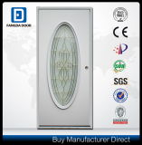 Emergency Break Safe Tempered Glass Steel Door