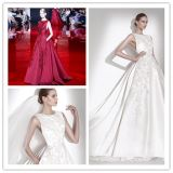 Red White Bridal Evening Gowns Beaded Prom Party Dresses Z213