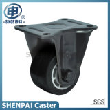 "3""Aluminium Core Rubber Fixed Caster Wheel"