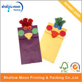 Two Color Rooster Molding Cute Paper Packing Bag (QY150266)