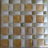 Mosaic Marble Tile Yellow Onyx