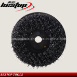 Round Shape Steel Wire Cup Brush for Polishing Stone