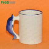 Freesub Animal Mug Dolphin for Sublimation Printing (MKB30)