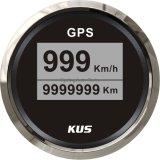 "2"" 52mm Digital GPS Speedometer Velometer 0-999km/H for Marine Car Truck"