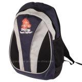 Nylon School Backpack with Sandwich Mesh
