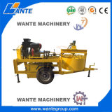 Clay interlock brick machine